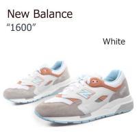 【送料無料】New Balance 1600/White【ニューバランス】【CM1600GP】   ...