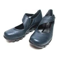 ドナミス  Dona Miss ベルトデザイン波型ソールシューズ レディース・靴