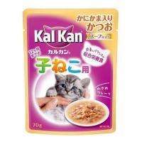 ●内容量:70g ●原材料:魚類(かつお等)、植物性油脂、かにかま、肉類(チキン、ビーフ)、小麦たん...
