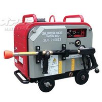 送料無料 高圧洗浄機 スーパー工業 エンジン式 スーパー工業 高圧洗浄機 防音型 スーパーエースウォ...