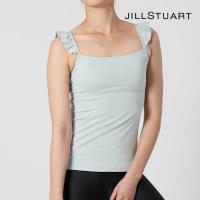 トップス  JILL STUART ジルスチュアート レディース  FITNESS yoga肩フリルカップ付きキャミ