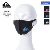 QUIKSILVER/クイックシルバー メンズ マスク ロゴ 黒 ブラック QOA205361T
