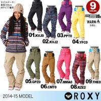 【ROXY/ロキシー】レディース スノーボードウェア パンツ{ERJTP00017} 2014 SN...