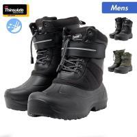 メンズ 防寒ブーツ シンサレート紳士軽量ウインターブーツ 16FW NBM00286 防寒・防水・防...