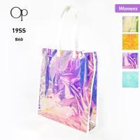 さらにクーポンで8%OFF OP/オーシャンパシフィック レディースバッグ オーロラ素材 プールバッグ ビニールバッグ かばん 鞄 529916