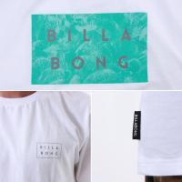BILLABONG/ビラボン メンズ 半袖 Tシャツ ティーシャツ ロゴ ブラック 黒色 ホワイト 白色 AH011-237
