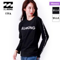 BILLABONG/ビラボン レディース ロングTシャツ 17FW AH014-050 BILLAB...