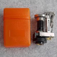 大変コンパクトなガスストーブながらオートイグナイター(点火装置)が付いているのでマッチやライターが必...