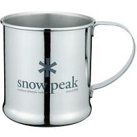snow peak(スノーピーク) ステンレスマグカップ E-010R カップ バーべキュー用品 調...