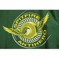 SPITFIRE × ANTIHERO (スピットファイヤー,アンタイヒーロー,コラボ,コーチジャケット,アウター) CLASSIC EAGLE COACH JACKET forest green