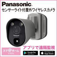 パナソニック Panasonic センサーライト付屋外ワイヤレスカメラ VL-WD813K