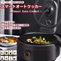スマートオートクッカー Smart Auto Cooker 自動電気調理鍋 AX-C1BN AINX アイネクス 全自動調理器 簡単 シンプル 全自動調理電気調理鍋