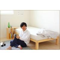 6本脚できしみ音を軽減。高級桐材すのこベッド シングル 高さ30cm 広島 職人 手作り 頑丈 丈夫 高級 国産 通気性 安全な塗料・接着剤 送料無料 offer1999 06