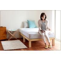 7本脚できしみ音を軽減。高級桐材すのこベッド ダブル 高さ30cm 広島 職人 手作り 頑丈 丈夫 高級 国産 通気性 安全な塗料・接着剤 組み立て簡単 送料無料|offer1999|03