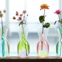 水を入れると美しい花瓶に変身デザインのバリエーションも豊富なD-BROSのロングセラー。かさばらない...