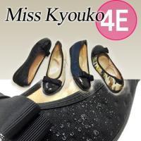 商品名  ミスキョウコ 4E撥水レインバレエシューズ12113サイズ  22.0cm-24.5cm色...