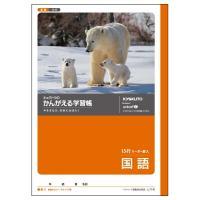 日本ノート キョクトウ かんがえる学習帳 国語 15行 B5 L11R