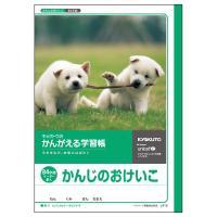 日本ノート キョクトウ かんがえる学習帳 かんじのおけいこ 84字 L412