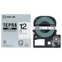 キングジム テプラPROテープカートリッジ 白ラベル 12mm SS12K