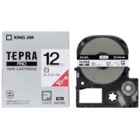 キングジム テプラPROテープカートリッジ 白ラベル「ロング」 12mm SS12KL