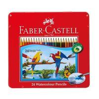 メーカー取寄せ商品 ファーバーカステル(FABER-CASTELL)水彩色鉛筆 24色セット TFC...