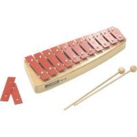 サイズ: 32×12×5cm 11音 木製マレット2本、半音キー2枚付 対象年齢:6歳〜 正確な音階...