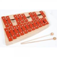サイズ: 30×20×5cm 19音 木製マレット2本 正確な音階と美しい音色です。 対象年齢:6歳...