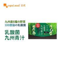 オーガランド 国産 青汁 (あおじる) ケール ゴーヤ 大麦若葉 緑茶 イソマルト オリゴ糖 30包 送料無料_ZRB