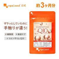 Q10 サプリ コエンザイムQ10 補酵素 エイジングケア 燃焼サポート サプリメント 約3ヶ月分_ZRB