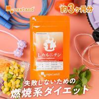Lカルニチン ダイエット サプリ サプリメント アミノ酸 lカルニチンフマル酸塩 燃焼系約3ヶ月分_ZRB
