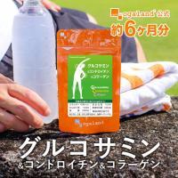 グルコサミン コンドロイチン コラーゲン 運動サポート 健康食品  サプリメント  約6ヶ月分 半年分 _JH