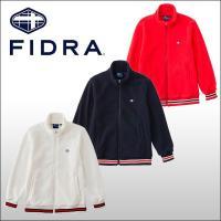 ★2015年秋冬モデル ★FIDRA定番ロゴとシンプルなリブ配色がアイキャッチなハイネックブルゾン。...