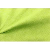 レディース 着物 袷着物 袷 若草色 麻の葉 八掛 白色  M L 国産生地 国内染 プレタ 洗える着物 婦人 女