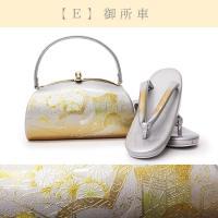 レディース 草履バッグ シルバー フリーサイズ 5種類  銀 礼装用 螺鈿 草履バッグセット 女 和装 女性