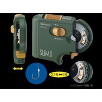 ハピソン 乾電池式薄型針結び器 SLIM II YH-720 厚さ約24mm、0.1号〜6号までの細...