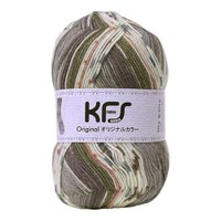 Opal毛糸 オリジナルカラー(KFS100) サーカス/グレー系マルチカラー (b)5bj