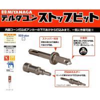 ミヤナガ   デルタゴンストップビット   品番:DLSDSBST1253 ビットと打込みホルダーの...