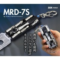 SEK スエカゲツール   ミニラチェット&ドライバービットセット    品番:MRD-7S   【...