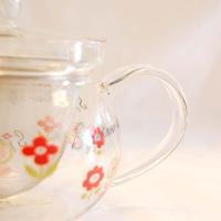 ショーベデイ 耐熱ラウンドポット 520cc  【Shouthver day】 紅茶 お茶 ガラス 軽量 グッズ 北欧 雑貨 プレゼント ギフト おしゃれ かわいい 父の日ギフト ブラ