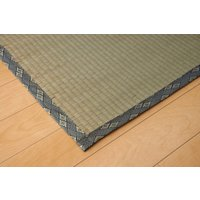 畳上敷き 国産 い草 カーペット 4.5畳 国産 糸引織 湯沢 六一間4.5畳 約277×277cm|okitatami