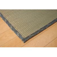 畳上敷き 国産 い草 カーペット 2畳 国産 糸引織 湯沢 本間2畳 約191×191cm|okitatami
