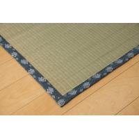 畳上敷き 国産 い草 カーペット 2畳 国産 双目織 ほほえみ 六一間2畳 約185×185cm|okitatami