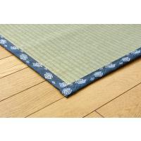 い草 上敷き カーペット 国産 糸引織 岩木 三六間 2畳 約182×182cm|okitatami