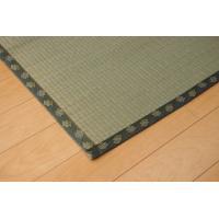 畳上敷き 国産 い草 カーペット 2畳 国産 双目織 松 六一間2畳 約185×185cm|okitatami