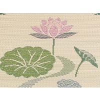 仏前 イグサ 純国産 袋織 い草御+B545:B573前 座布団 蓮の花 約70×70cm|okitatami|02