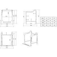 据え置き型 トイレの手すり 折りたたみタイプ イーストアイ|okitatami|03