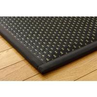 畳 薄畳 ユニット畳 フレア ブラック 82×82×2.3cm 6枚1セット 中材:低反発ウレタン+フェルト|okitatami|02