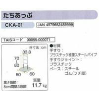 手すり 簡易てすりたちあっぷCKA-01矢崎化工株式会社 木目調の温かみのある手すり|okitatami|02