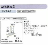 手すり 簡易てすり たちあっぷCKA-02矢崎化工株式会社|okitatami|02