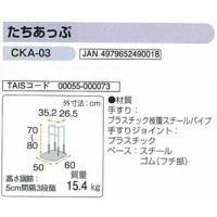 手すり 簡易てすり たちあっぷCKA-03矢崎化工株式会社|okitatami|02